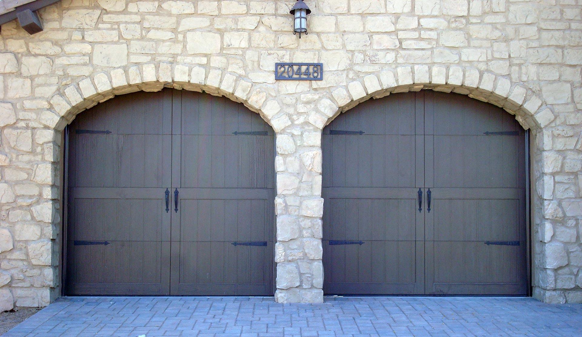 Makeover my garag door for Stylish garage doors
